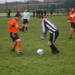 Torry United centre forward Chris Clark was Torry's main threat throughout the match